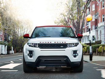 Range Rover Evoque посвятили лондонской Эбби Роуд