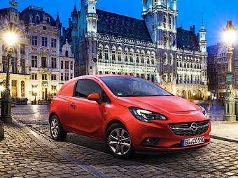 """Opel превратил """"Корсу"""" в развозной фургон"""