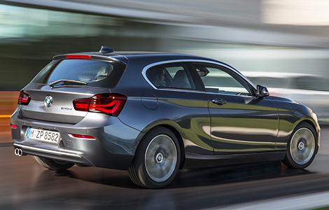 Хэтчбек BMW 1-Series получил светодиодные фары