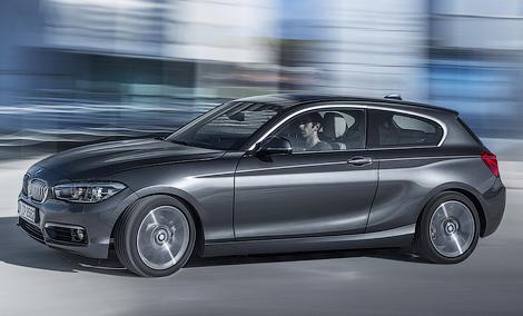 Хэтчбек BMW 1-Series получил светодиодные фары. Фото 1