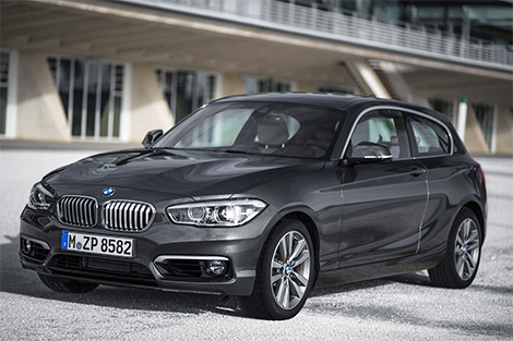 Хэтчбек BMW 1-Series получил светодиодные фары. Фото 2