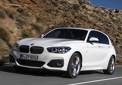 Хэтчбек BMW 1-Series получил светодиодные фары. Фото 3