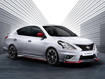 Седан Nissan Almera получил Nismo-версию