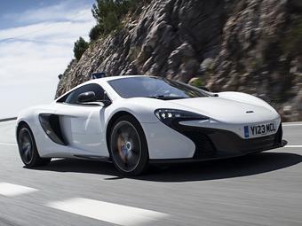Суперкар McLaren 650S станет легче и мощнее