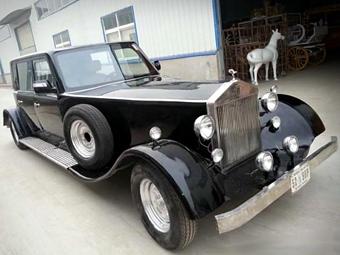 Китайцы сделали клон 80-летнего Rolls-Royce с электромотором