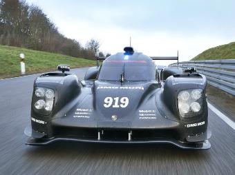 """Команда Porsche показала новую машину для """"Ле-Мана"""""""