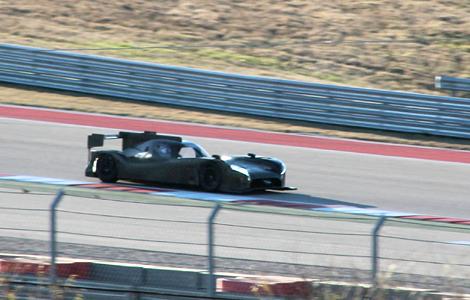 Опубликованы первые снимки спортпрототипа Nissan класса LMP1