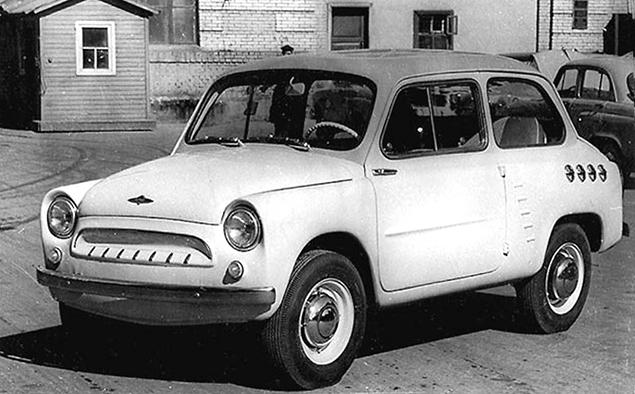 Как могли бы выглядеть известные советские автомобили. Фото 8