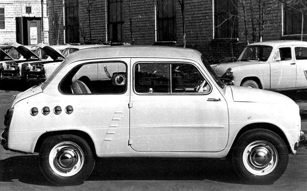 Как могли бы выглядеть известные советские автомобили. Фото 9