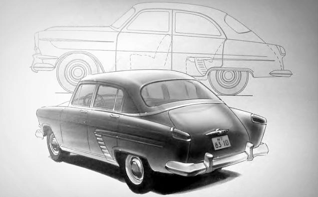 Как могли бы выглядеть известные советские автомобили. Фото 14