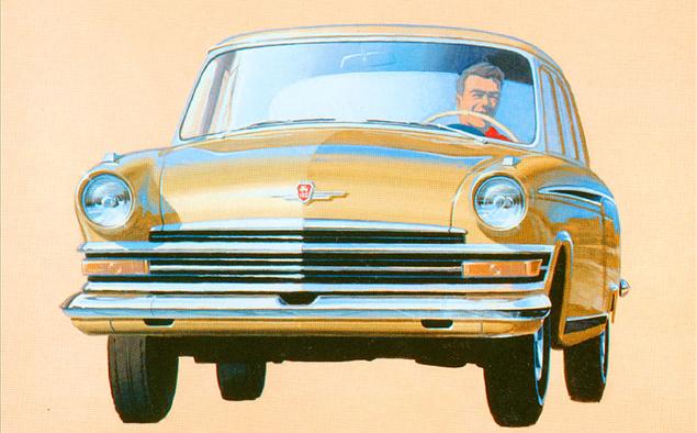 Как могли бы выглядеть известные советские автомобили. Фото 16