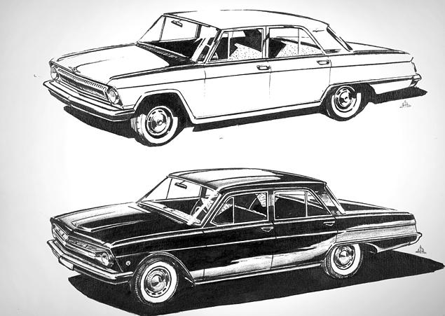 Как могли бы выглядеть известные советские автомобили. Фото 24