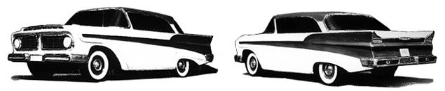 Как могли бы выглядеть известные советские автомобили. Фото 25