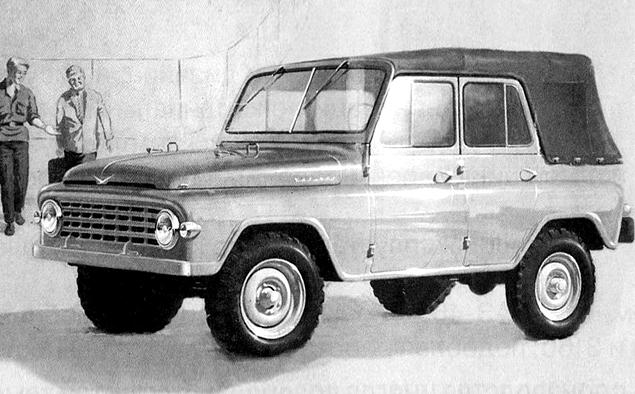 Как могли бы выглядеть известные советские автомобили. Фото 37