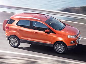 Ford обновит кроссовер EcoSport из-за низкого спроса