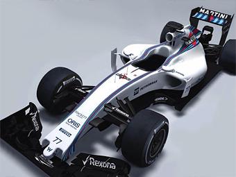 Команда Williams раскрыла новый болид за полторы недели до премьеры