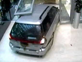 Похищение кубков Red Bull засняли камеры видеонаблюдения