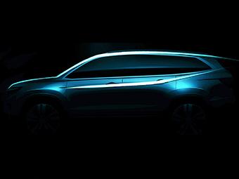 «Хонда» показала профиль нового «Пилота»