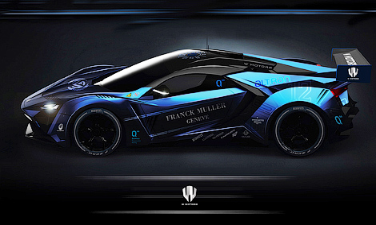 Компания W Motors построит 1000-сильный суперкар на синтетическом топливе. Фото 1