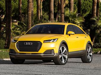В Audi определились с названием для кроссовера на базе TT