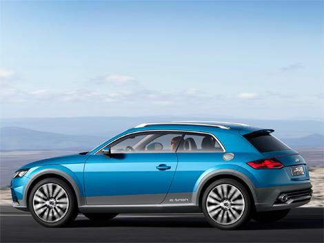Новый спортивный вседорожник Audi появится в 2017 году