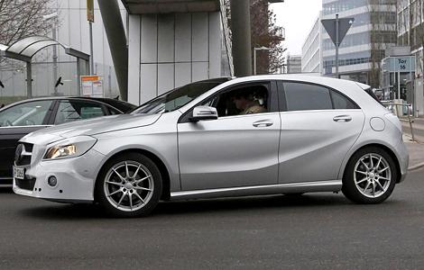Обновленный Mercedes-Benz A-Class дебютирует осенью