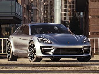 Porsche сделает «мини-Панамеру» электрической