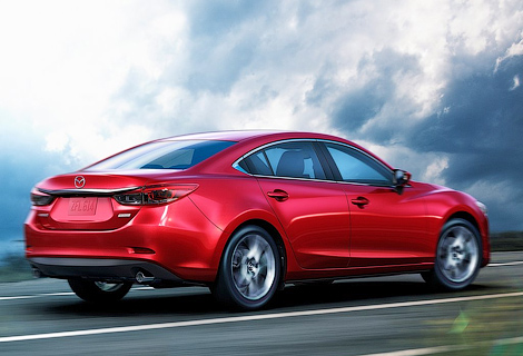 У дилеров появятся рестайлинговые Mazda6 и CX-5. Фото 1