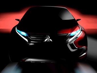 Mitsubishi привезет в Женеву моноприводный гибридный кроссовер