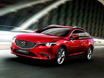 Обновленная Mazda6 получила полный привод