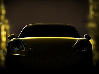 Трековый Porsche Cayman рассекретят в видеоигре