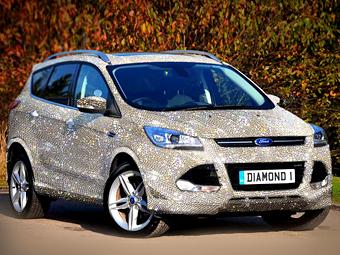Ford Kuga с кристаллами Swarovski оценили в 1,3 миллиона евро
