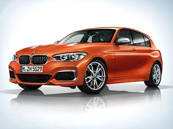 BMW опубликовала фотографии обновленного хэтчбека M135i