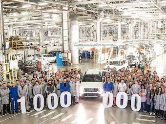 Московский завод Renault выпустил миллионный автомобиль