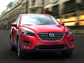 Названы рублевые цены обновленных Mazda6 и CX-5
