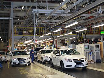 General Motors остановит российский завод на два месяца
