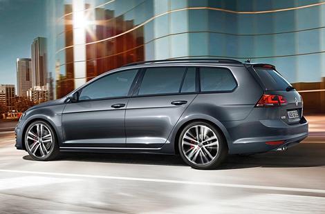 Volkswagen оснастил Golf Variant 184-сильным дизелем