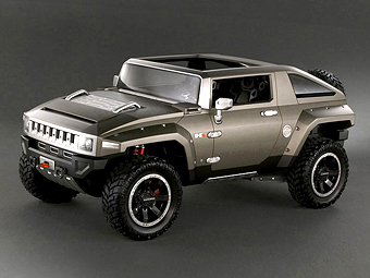 GM заинтересовался выпуском внедорожника в стиле Hummer