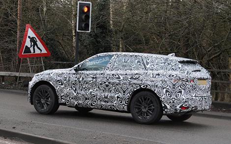 Вседорожник Jaguar F-Pace поступит в продажу в 2016 году