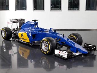 Команда Sauber полностью сменила раскраску