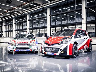 Toyota вернется в WRC в 2017 году
