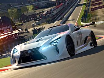 Lexus сделал для видеоигры гоночный спортпрототип