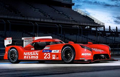 Представлен спортпрототип GT-R LM Nismo. Фото 1