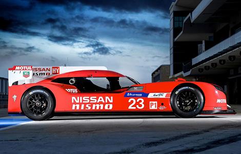 Представлен спортпрототип GT-R LM Nismo. Фото 3