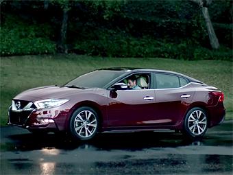 Nissan представил новую «Максиму» в рекламном ролике