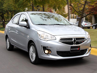 Бюджетник Dodge сменил платформу Hyundai на Mitsubishi