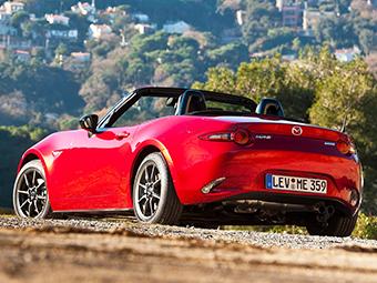 Mazda сделает MX-5 мощнее