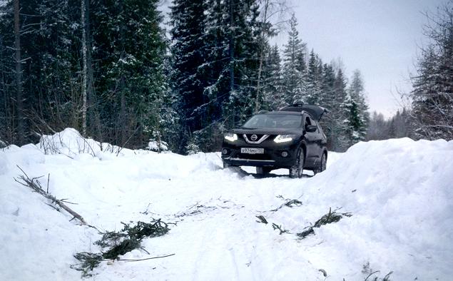 В огонь и снег вместе с новым Nissan X-Trail. Фото 6
