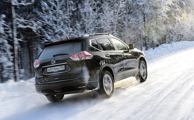 В огонь и снег вместе с новым Nissan X-Trail. Фото 8