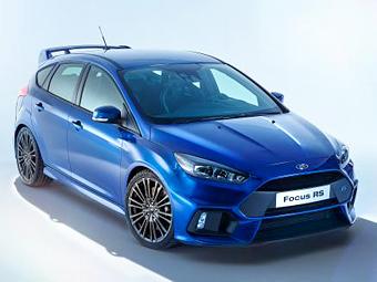 Фотографии нового Ford Focus RS попали в Сеть